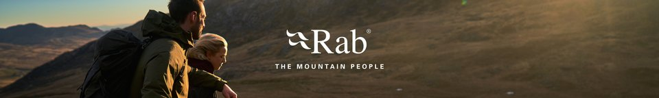 People wearing and using Rab gear are hanging on a snow mountain and enjoying interesting snow views and a drink.