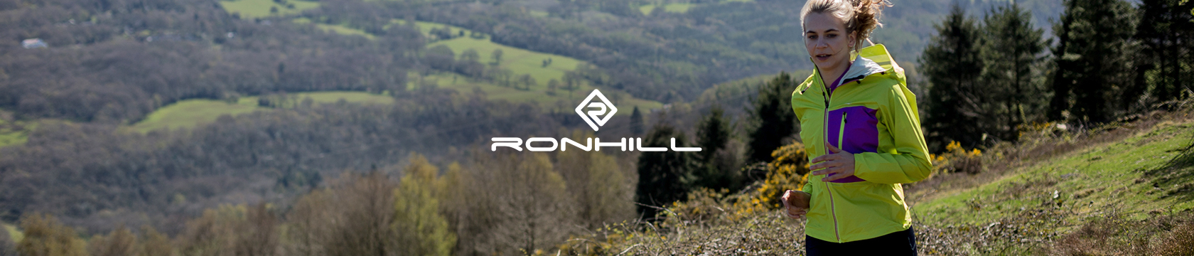 Running with Ronhill.