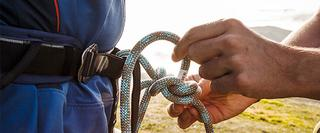 Climbing Rope Knot