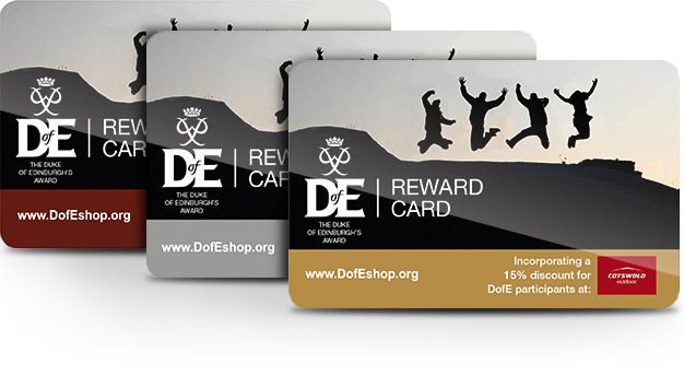 DofE Reward Cards