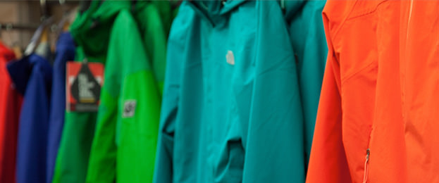 Row of Waterproofs