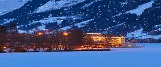 Ski Resort At Night